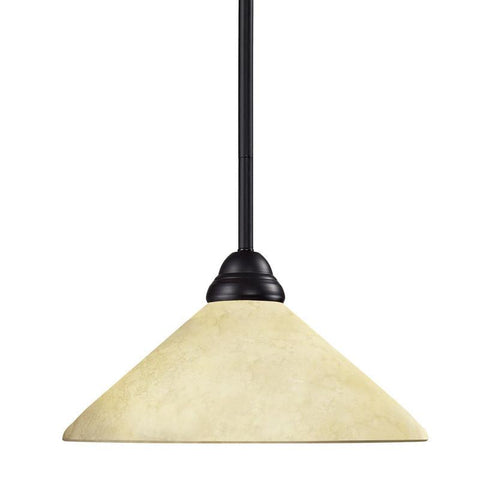 Z-Lite 2114mp-brz-agm14 Riviera Bronze Collection 1 Light Pendant - ZLiteStore
