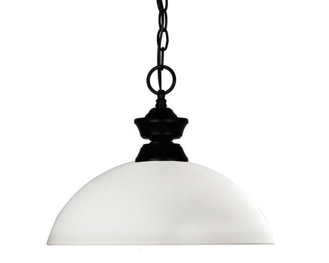 Z-Lite 100701mb-dmo14 Shark/Windsor Collection 1 Light Pendant - ZLiteStore