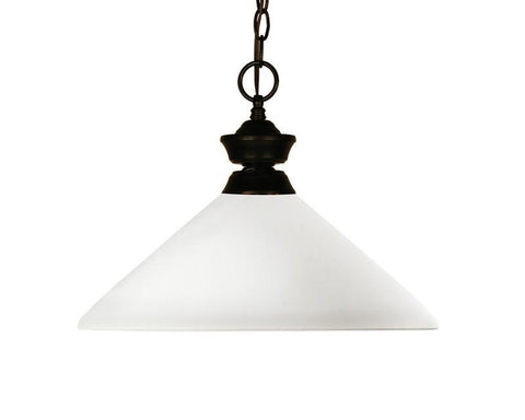 Z-Lite 100701brz-amo14 Chance/Aztec Collection 1 Light Pendant - ZLiteStore