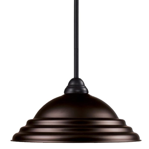 Z-Lite 2114mp-brz-sbrz Riviera Bronze Collection 1 Light Pendant - ZLiteStore