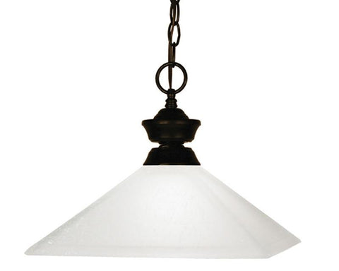 Z-Lite 100701brz-mmo13 Flatwater Collection 1 Light Pendant - ZLiteStore