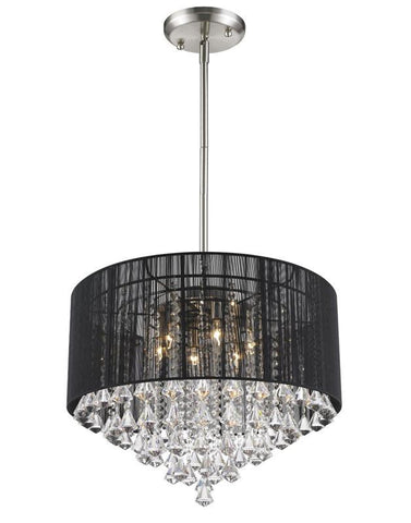 Z-Lite 890-24BK-C 6 Light Pendant - ZLiteStore