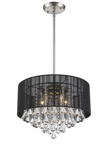 Z-Lite 890-20BK-C 5 Light Pendant - ZLiteStore