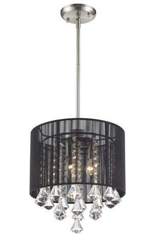 Z-Lite 890-12BK-C 1 Light Pendant - ZLiteStore