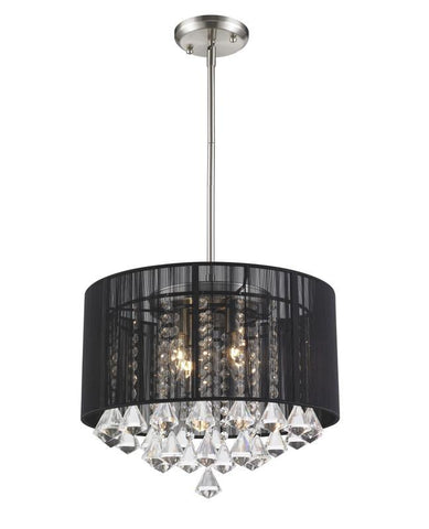 Z-Lite 890-16BK-C 4 Light Pendant - ZLiteStore