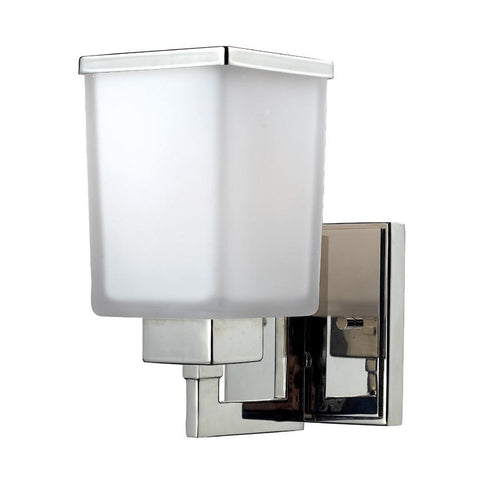 Z Lite Affinia Collection Chrome Finish One Light Wall Sconce - ZLiteStore