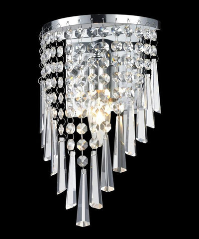 Z-Lite 868ch-1s Tango Collection 1 Light Crystal Vanity Light - ZLiteStore