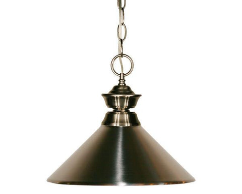 Z-Lite Pendant Lights Collection Pewter Finish One Light Pendant - ZLiteStore