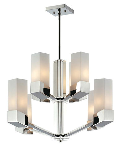 Z-Lite 607-8 Zen Collection 8 Light Chandelier - ZLiteStore