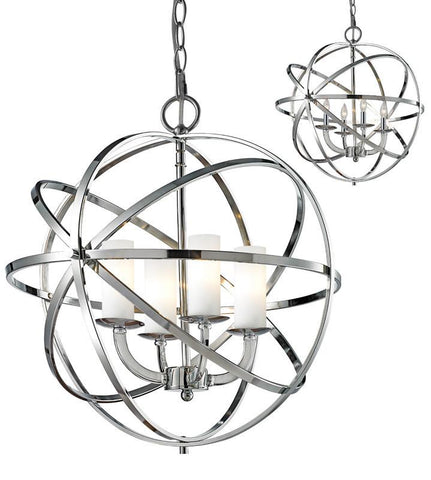 Z-Lite 6017-4S-CH 4 Light Pendant - ZLiteStore