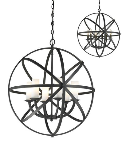 Z-Lite 6017-6L-BRZ 6 Light Pendant - ZLiteStore