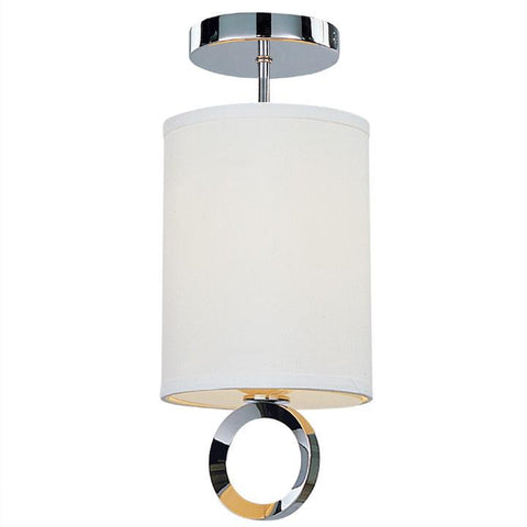 Z-Lite Delta Collection Polished Stainless Steel Finish One Light Mini Pendant - ZLiteStore