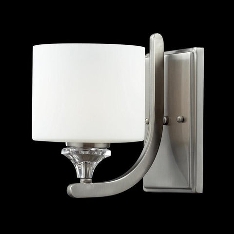 Z-Lite 2000-1S Avignon Collection Brushed Nickel Finish 1 Light Wall Sconce - ZLiteStore