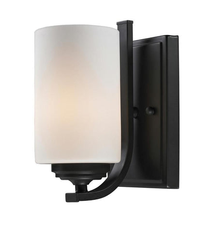 Z-Lite 2006-1S Chambley Collection Oil Rubbed Bronze Finish 1 Light Wall Sconce - ZLiteStore