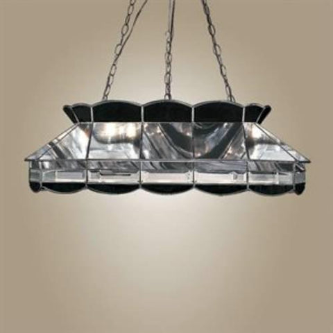 Z-Lite Metro Collection Black Chrome Finish Three Light Island/Billiard - ZLiteStore