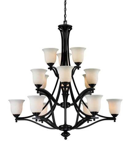 Z-Lite 702-15-brz Lagoon Collection 15 Light Chandelier - ZLiteStore
