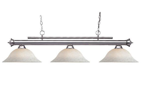 Z-Lite Stinger Collection Pewter Finish Three Lights Billiard - ZLiteStore