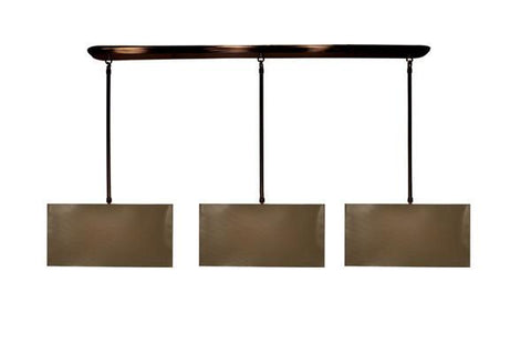 Z-Lite Nikko Collection Olde Bronze/Taupe Finish 9 Lights Island/Billiard - ZLiteStore