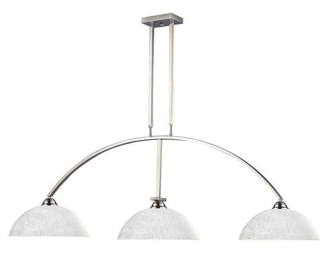 Z-Lite 151bn-dwl14 Martini Collection 3 Light Billiard - ZLiteStore