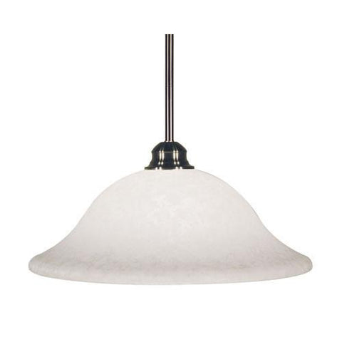 Z-Lite Huntingdale Collection Matte Black Finish One Light Mini Pendant - ZLiteStore