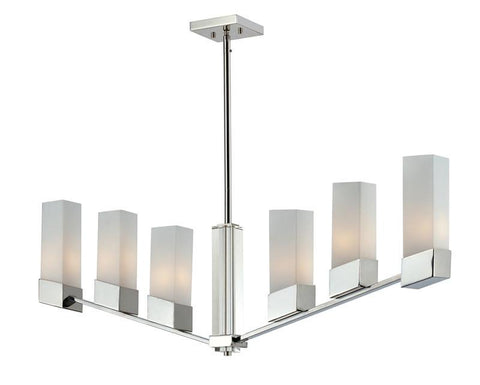 Z-Lite 607-6 Zen Collection 6 light island light - ZLiteStore