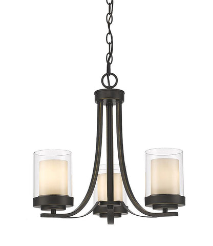 Z-Lite 426-3C-OB 3 Light Chandelier - ZLiteStore
