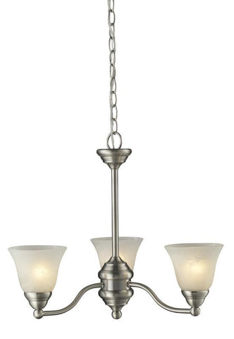 Z-Lite 2110-3 Athena Collection 3 Light Chandelier - ZLiteStore