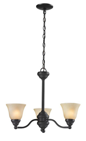 Z-Lite 2114-3 Athena Collection 3 Light Chandelier - ZLiteStore