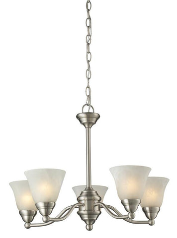 Z-Lite 2110-5 Athena Collection 5 Light Chandelier - ZLiteStore