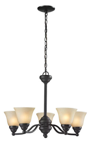 Z-Lite 2114-5 Athena Collection 5 Light Chandelier - ZLiteStore