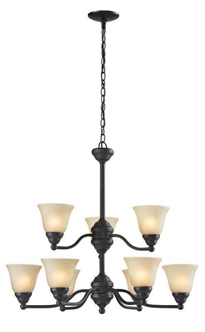 Z-Lite 2114-9 Athena Collection 9 Light Chandelier - ZLiteStore