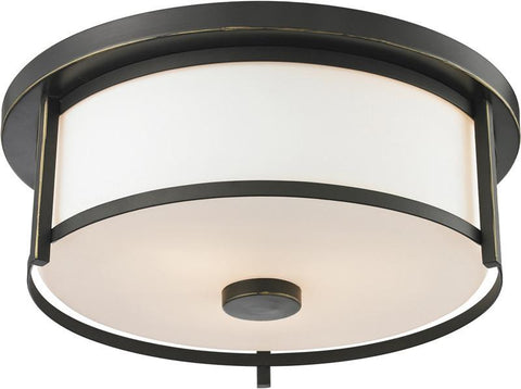 Z-Lite 413F14 2 Light Flush Mount - ZLiteStore