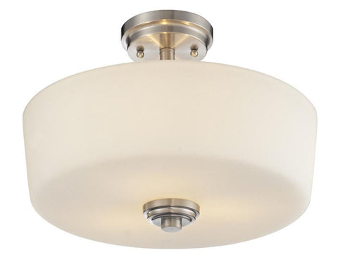 Z-Lite 226SF 3 Light Semi-Flush Mount - ZLiteStore