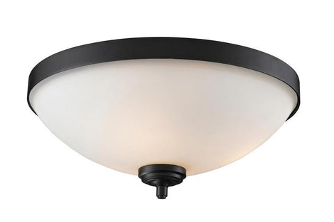 Z-Lite 2006F3 Chambley Collection Oil Rubbed Bronze Finish 3 Light Flush Mount - ZLiteStore