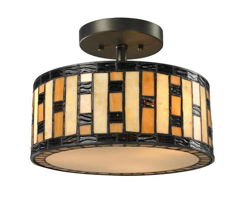 Z-Lite Z12-51SF 3 Light Semi-Flush Mount - ZLiteStore