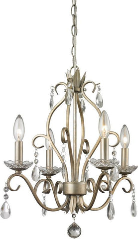Z-Lite 424AS 4 Light Mini Chandelier - ZLiteStore