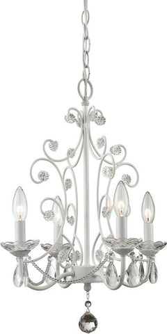 Z-Lite 419WH 4 Light Mini Chandelier - ZLiteStore