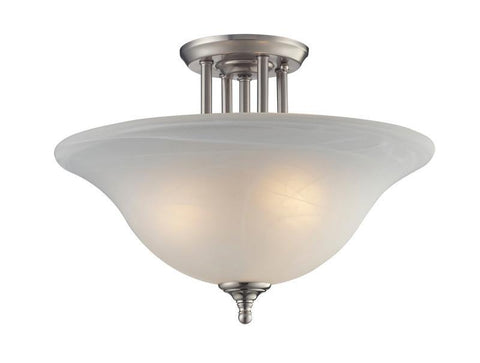 Z-Lite 2110sf Athena Collection 3 Light Semi-Flush Mount - ZLiteStore