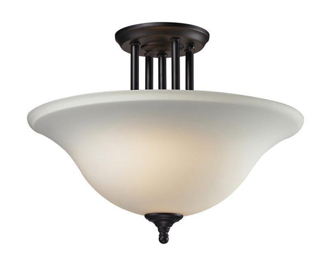 Z-Lite 2112sf Athena Collection 3 Light Semi-Flush Mount - ZLiteStore