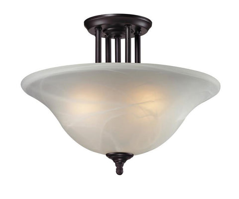 Z-Lite 2113sf Athena Collection 3 Light Semi-Flush Mount - ZLiteStore