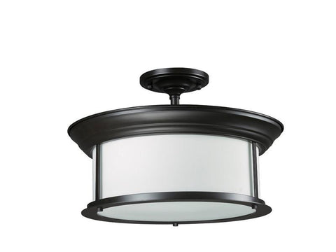 Z-Lite 2004sf-brz Sonna Collection 3 Light Semi-Flush Mount - ZLiteStore