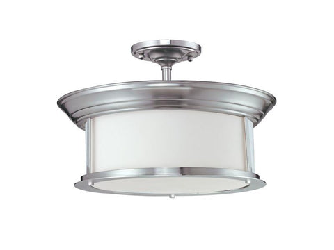 Z-Lite 2002sf-bn Sonna Collection 3 Light Semi-Flush Mount - ZLiteStore
