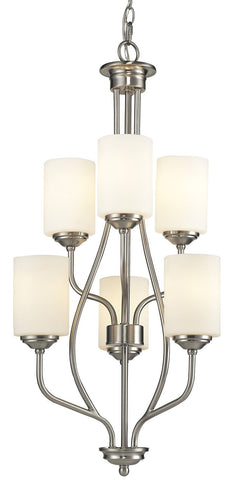 Z-Lite 434-6-BN 6 Light Chandelier - ZLiteStore