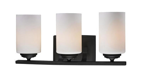 Z-Lite 2006-3V Chambley Collection Oil Rubbed Bronze Finish 3 Light Vanity Light - ZLiteStore