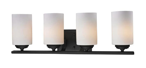 Z-Lite 2006-4V Chambley Collection Oil Rubbed Bronze Finish 4 Light Vanity Light - ZLiteStore