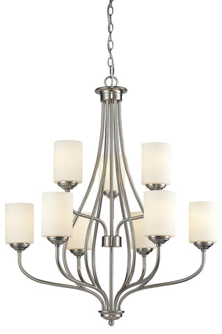 Z-Lite 434-9-BN 9 Light Chandelier - ZLiteStore