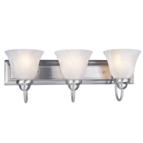 Z-Lite Lexington Collection Brushed Nickel Finish Three Light Vanity - ZLiteStore