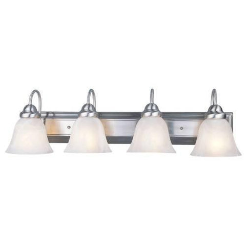 Z-Lite Lexington Collection Brushed Nickel Finish Four Light Vanity - ZLiteStore