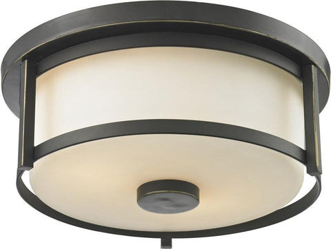 Z-Lite 413F11 2 Light Flush Mount - ZLiteStore