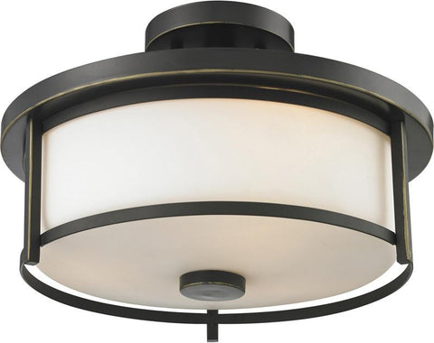 Z-Lite 413SF14 2 Light Semi Flush Mount - ZLiteStore